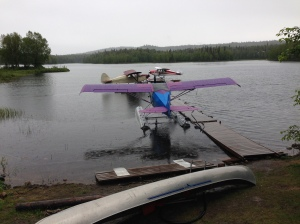 Float planes at Alaska Floats & Skis on Christiansen Lake